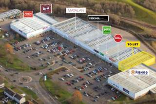 Aerial for Caledonian Retail Park