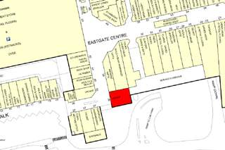 Goad Map for Eastgate Shopping Centre