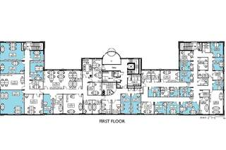 Floor Plan for Regus House