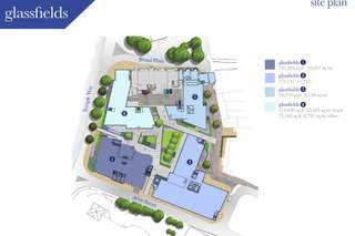 Site Plan for Glassfields 1