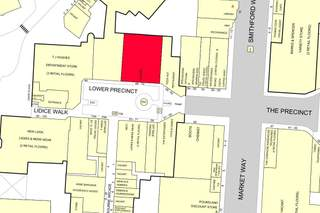 Goad Map for Lower Precinct Shopping Centre