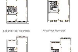 Typical Floor Plan for 42-43 Great Marlborough St