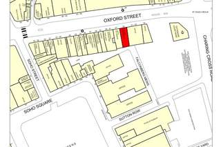 Goad Map for 25 Oxford St