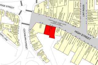 Goad Map for 21-33 High St