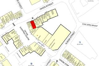 Goad Map for Tipton Shopping Centre