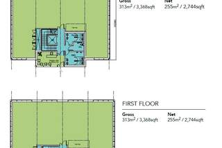 Floor Plan for City South