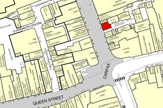 Goad Map for 5-7 Cornmarket St