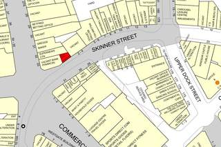 Goad Map for 2A Skinner St