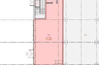 Floor Plan for Broad Street Mall / Fountain House