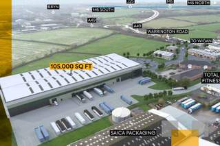 Glasshouse - Glasshouse Business Park, Wigan - Industrial unit for rent - 100,000 to 105,000 sq ft