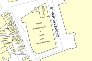 Goad Map for A1 Retail Unit- Thistle Hotel