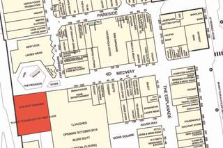 Goad Map for The Strand Shopping Centre
