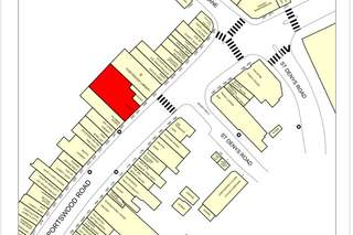 Goad Map for 245-247 Portswood Rd