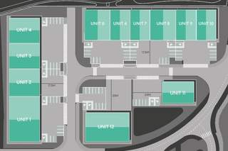 Site Plan for Unit 11, Cherry Orchard Way