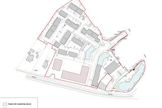 Primary Photo of Proposed New Retail Units Site