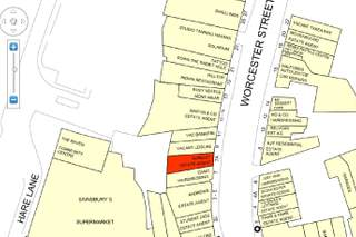 Goad Map for 7A Worcester St