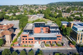 Aerial - Grosvenor House, Redhill - Office for rent - 11,700 to 41,042 sq ft