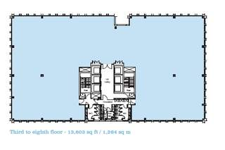 Floor Plan for 1 West Regent St