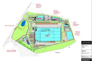 Site Plan for Magnetic Park