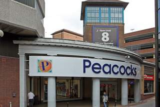 Primary Photo of Peacocks Shopping Centre