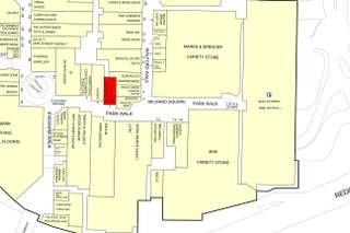 Goad Map for Kingfisher Shopping Centre