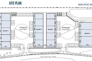 Site Plan for Westfield Point Block 1