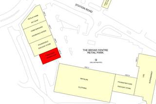 Goad Map for The Broad Centre Retail Park