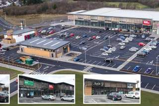 Primary Photo of Cross Hand Retail Park