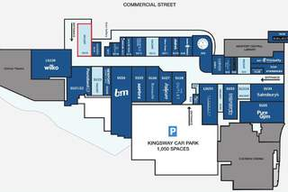 Goad Map for Kingsway Centre