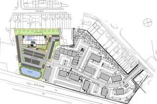 Site Plan for The Village, Phase III