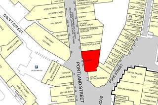 Goad Map for 11 Portland St