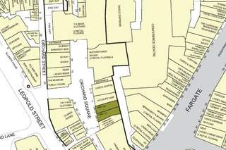 Goad Map for Orchard Square Shopping Centre