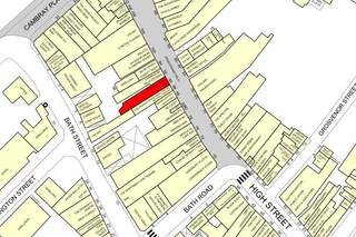 Goad Map for 90 High St