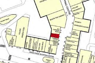 Goad Map for Kings Chase Shopping Centre