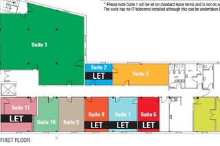 Floor Plan for Westbourne Shopping Centre