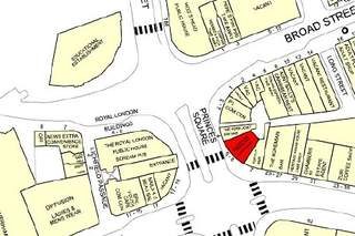 Goad Map for 5-6 Princes Sq