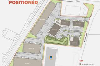 Site Plan for Manor Point Homles Chapel - Block D