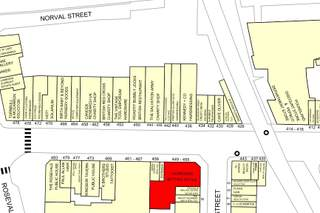 Goad Map for 449-455 Dumbarton Rd