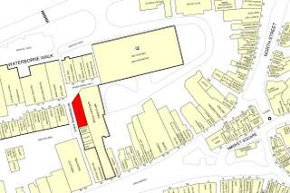 Goad Map for Waterborne Walk Shopping Centre