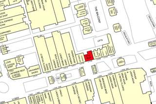 Goad Map for Westfield London Shopping Centre