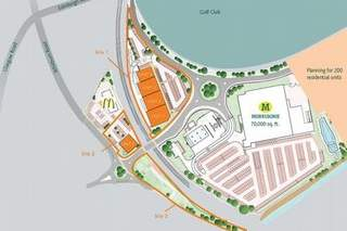 Site Plan - Linkston Way, Bathgate - Shop for rent - 3,670 sq ft