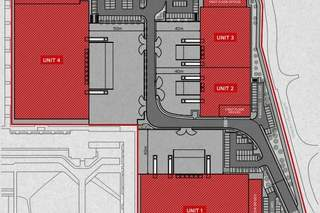 Site Plan for Units 2-3, North Hyde Gardens
