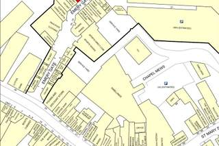 Goad Map for Emery Gate Shopping Centre