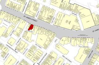 Goad Map for 66 St James St