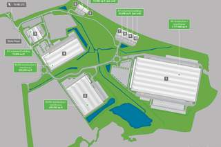 Site Plan for London Medway Commercial Park