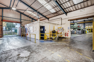 Internal Working Areas - Entry - Erasteel Stubs Ltd, Warrington - Industrial unit for sale - 40,903 sq ft