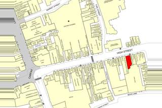 Goad Map for 115 High St - 1