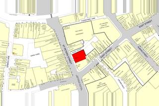Goad Map for 23-27 St Peters St - 2