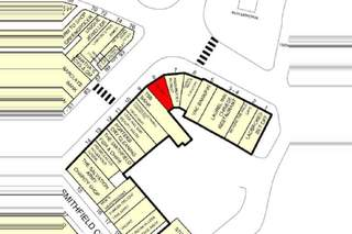 Goad Map for The Smithfield Centre - 1