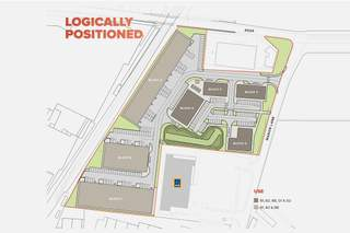 Site Plan for Manor Point Holmes Chaoel - Block F - 1